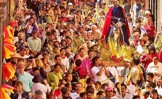 Easter Parade in San Miguel de Allende