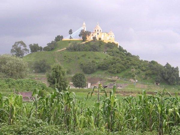 Great Pyramid of Cholula Mexico