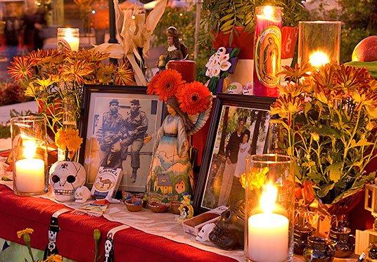 Ofrenda Dia de los Muertos